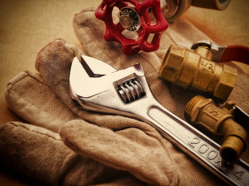 Plumber's toolbox